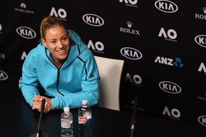 Angelique Kerber Image Credit: Tennis Australia