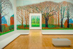 David Hockney Exhibition at the NGV