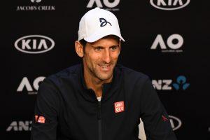 Novak Djokovic Image Credit: Tennis Australia