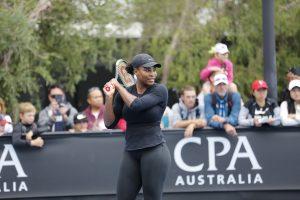 Serena Williams Image Credit: Tennis Australia